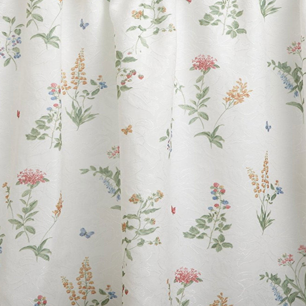 English Garden Kitchen Valance Swags And Tier Curtains