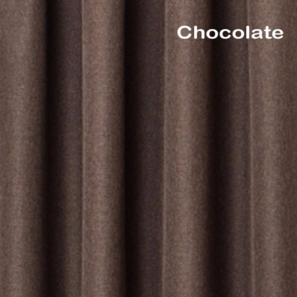 Euro-Linen-Flame-Retardant-Rod-Pocket-Panel-Chocolate-Zoom
