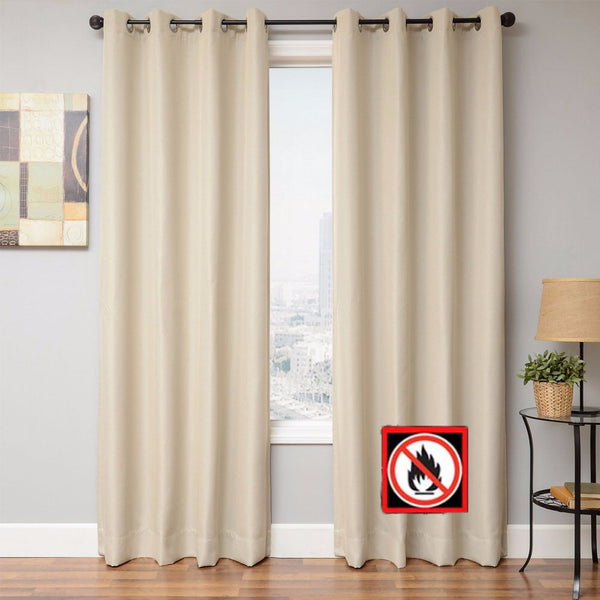 Euro-Linen-Flame-Retardant-Grommet-Top-Panel-Zoom