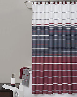 Evan Stripe Shower Curtain