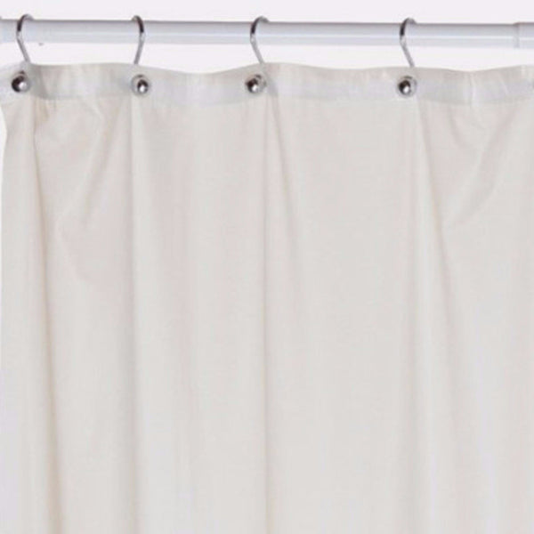 "Extra-Long-84""-Shower-Curtain-Liner-Bone-Zoom"