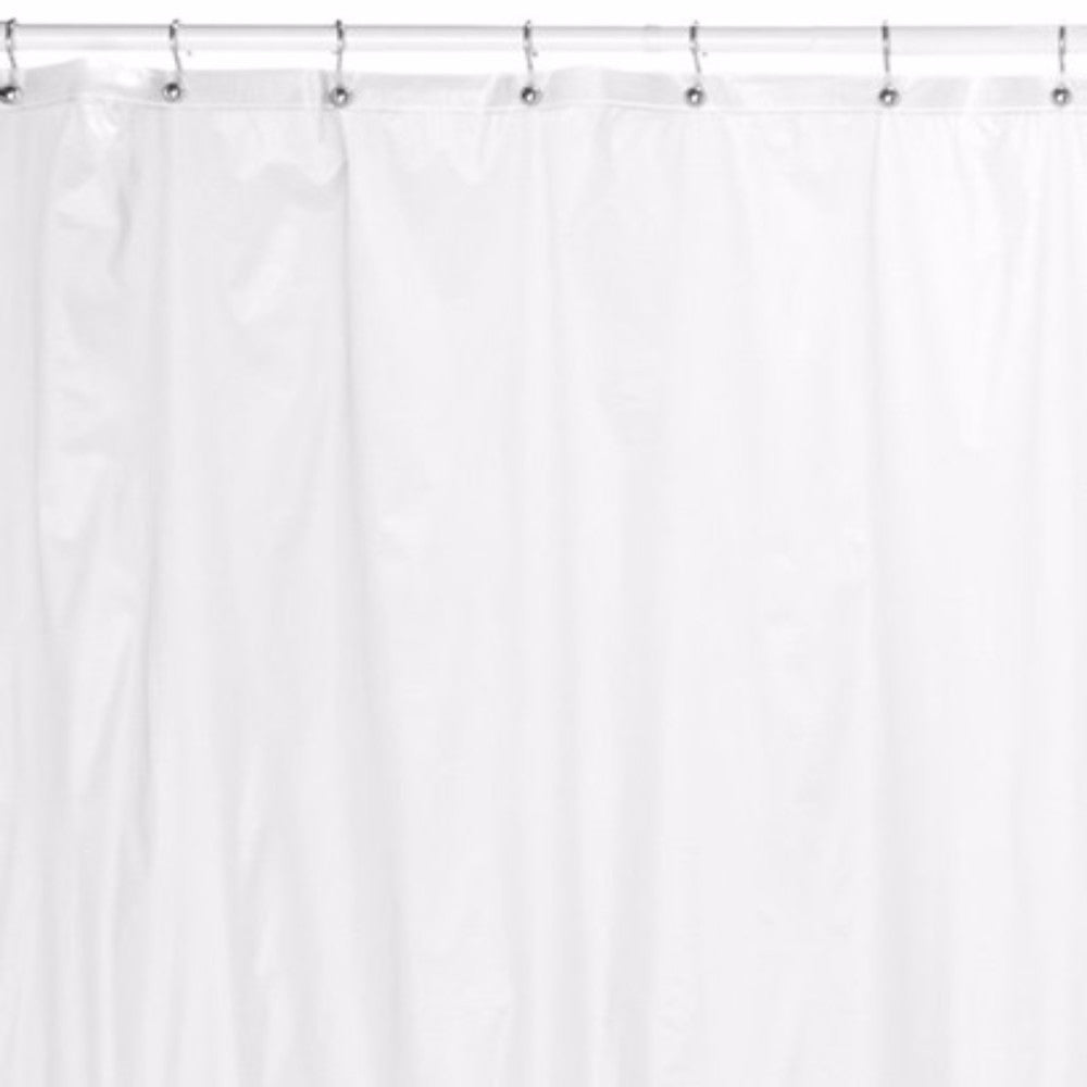 Extra Long 84 Shower Curtain Liner Frost