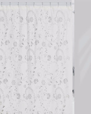 Eyelet Fabric Shower Curtain