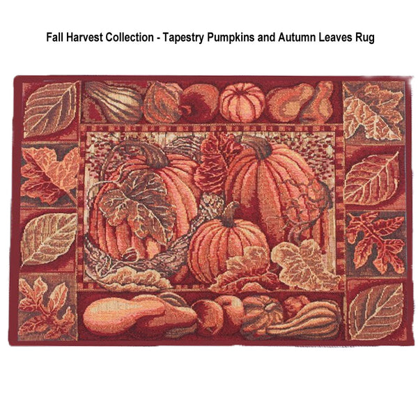 Fall-Collection-Tapestry-Rug-Pumpkins-and-Autumn-Leaves-Design