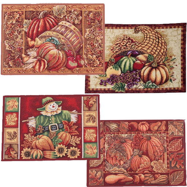 "Fall Collection 13"" x 19"" Tapestry Placemats"
