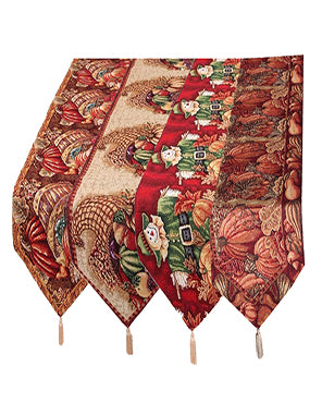 "Fall Collection 13""x 70"" Tapestry Runners"