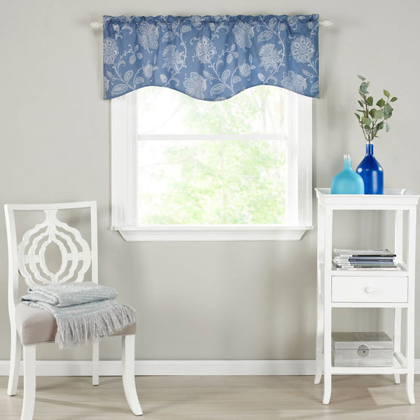 Felicity Lined Scalloped Valance