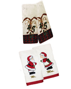 Lexon-2-Piece-Holiday-Finger-Tip-Towel-Set