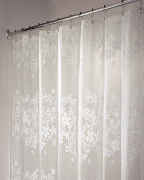 Fiore Eva Vinyl Shower Curtain