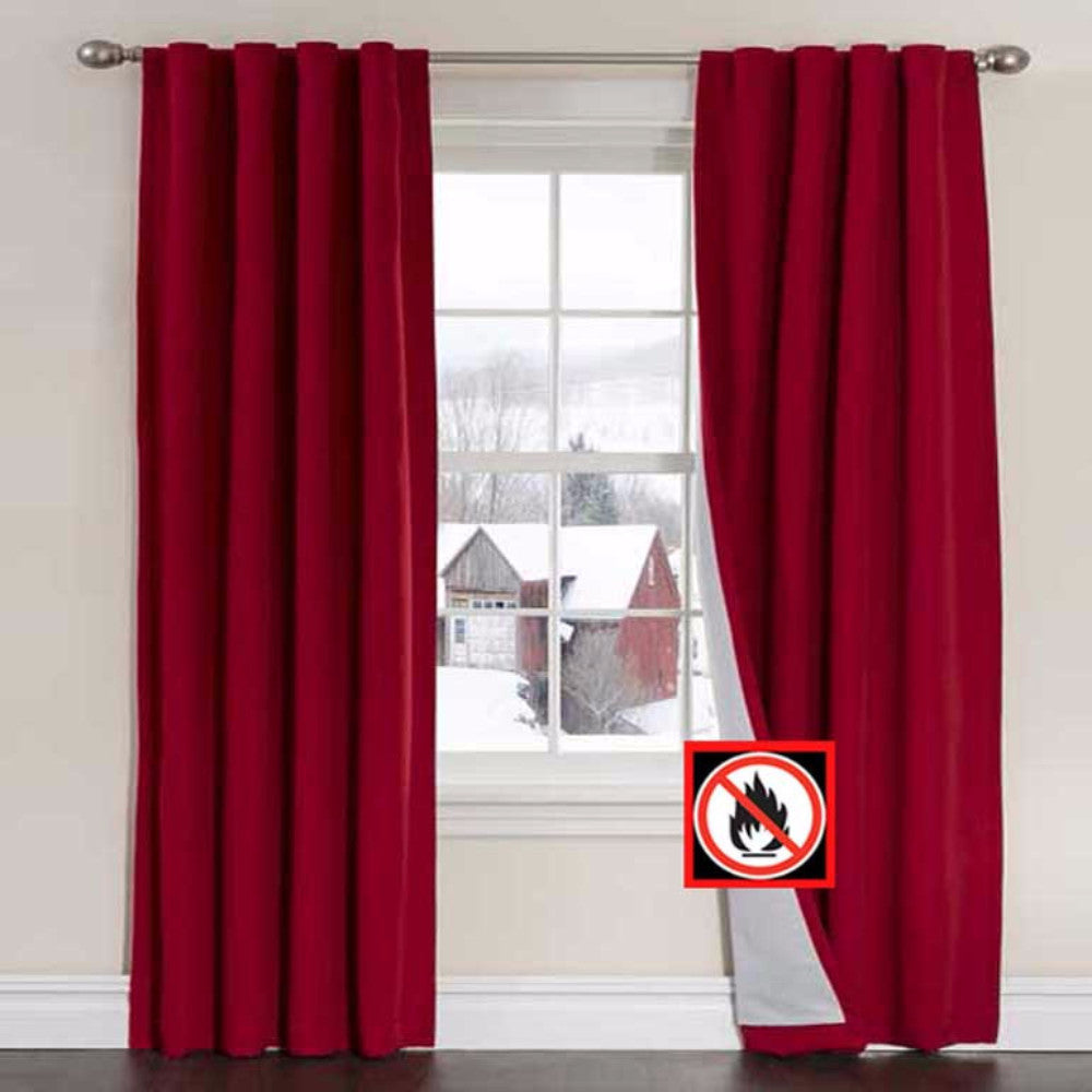 Firefend Flame Retardant Curtain Panels Louis Hornick