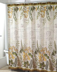 Foliage Garden -Fabric- Shower Curtain
