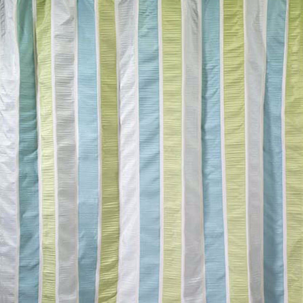 Close up shot of Multi Freeport Fabric Shower Curtain fabric