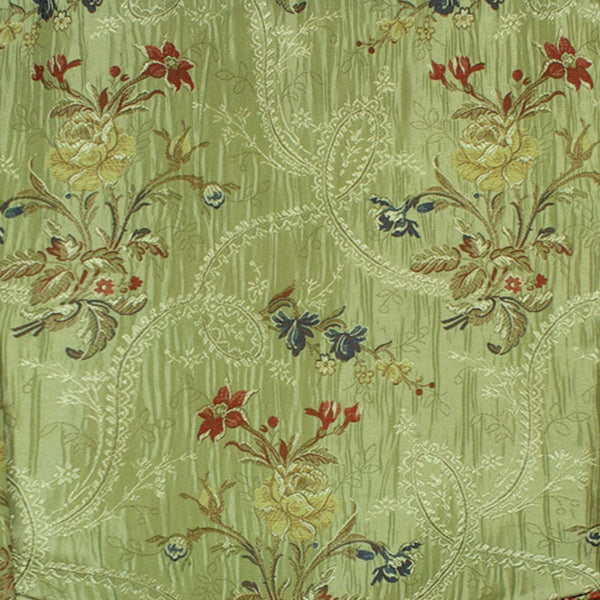 Jewel-Woven-Panel-And-Austrian-Valance-Green-Zoom