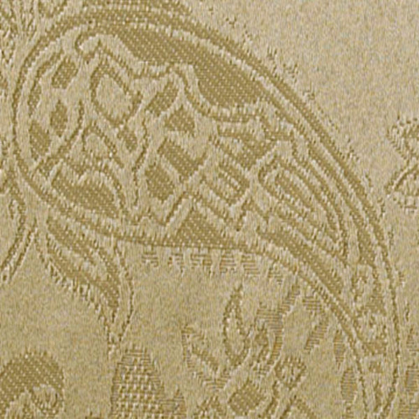 Closeup shot of gold Gabrielle Insulated Panel Pair fabric