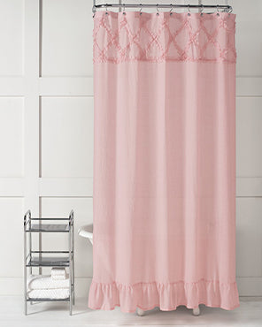 Garden Crossing Fabric Shower Curtain