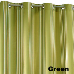 Outdoor-Décor-Gazebo-Stripe-Grommet-Top-Panel-Green-Zoom