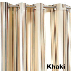 Outdoor-Décor-Gazebo-Stripe-Grommet-Top-Panel-Khaki-Zoom