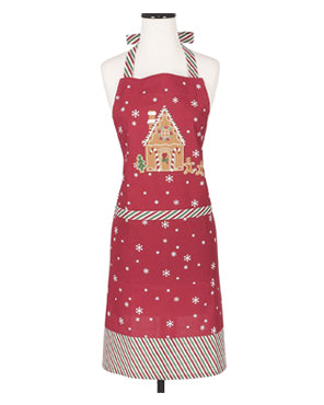 Gingerbread Adult and Child Apron