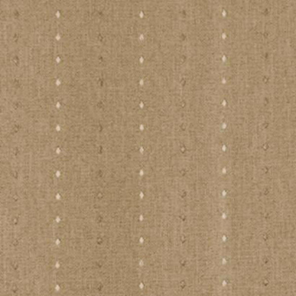 Closeup shot of Natural Grand Pointe Back Tab Patio Panel fabric