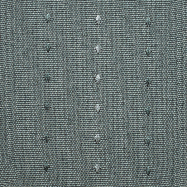 Close up of Green Grand Pointe Back Tab Panel fabric