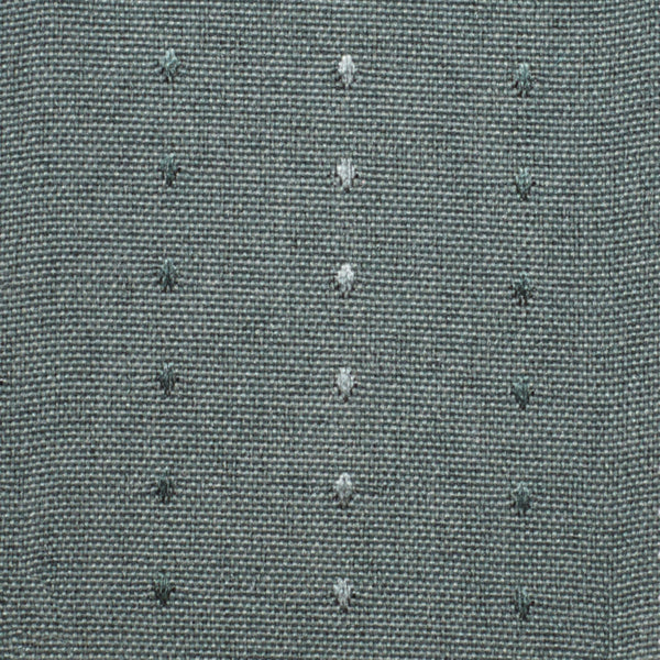 Closeup shot of Green Grand Pointe Grommet Panel fabric