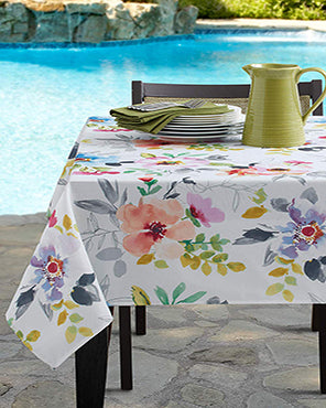 Harper Indoor/Outdoor Spill Proof Tablecloth