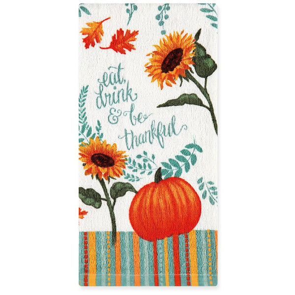 Multi Harvest Delight Kitchen Towel, Oven Mitt and Pot Holder Kitchen Towel