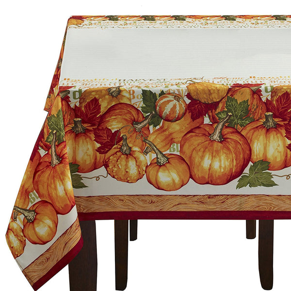 Harvested Textured Fabric Tablecloth