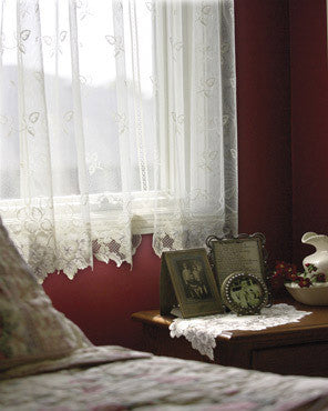 Heirloom Lace Panel Heritage Lace Curtainshop Com
