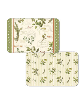 Aromatic Herbs Reversible Placemat