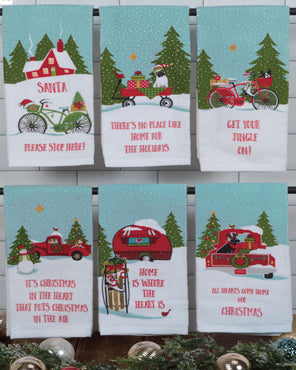 Home for the Holiday Kitchen Towel Assortment