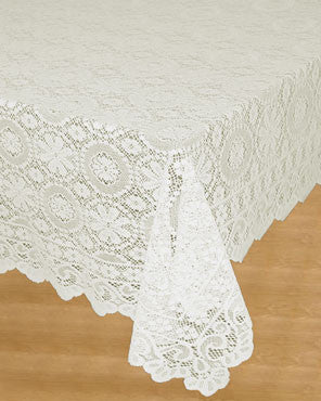 Hopewell Jacquard Lace Tablecloth