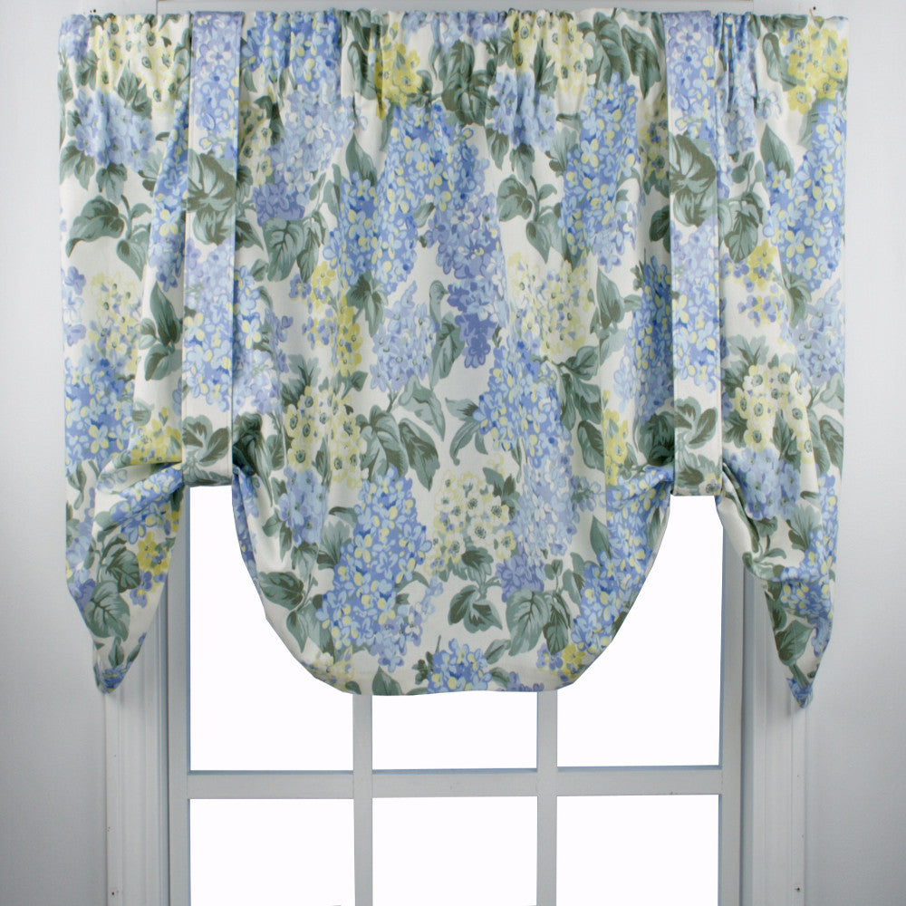 Hydrangea Tie Up Valance Ellis Curtain