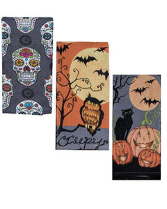 Halloween Kitchen Terry Towel