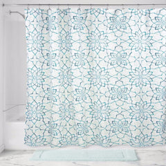Kenzie-Floral-Fabric-Shower-Curtain-Zoom