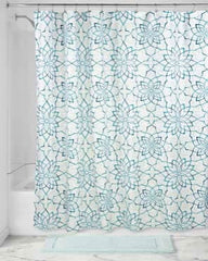 Kenzie Floral-Fabric- Shower Curtain