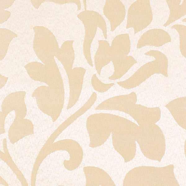 Close up shot of Beige Leah Jacquard Grommet Panel fabric