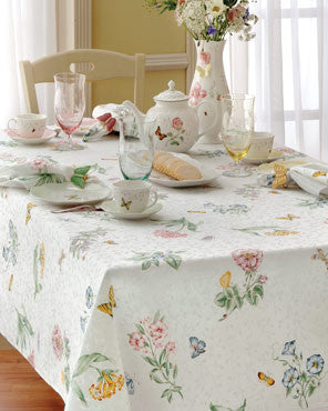 Lenox Butterfly Meadow Fabric Tablecloth