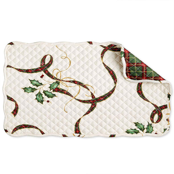 Lenox Holiday Nouveau Fabric Tablecloth