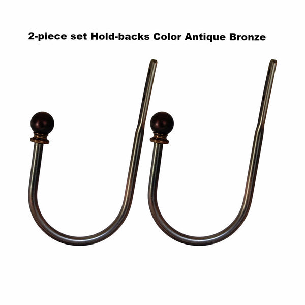 Lexington-1 inch-Diameter-Hold back-Set-Ant.Bronze-78