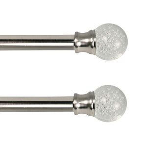 "Lexington Duet 1"" Pair of Curtain Rods"