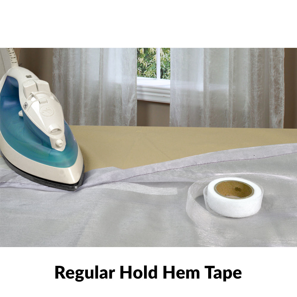 Ready-Made Curtain Iron-On Hem Tape Regular & Extra Hold