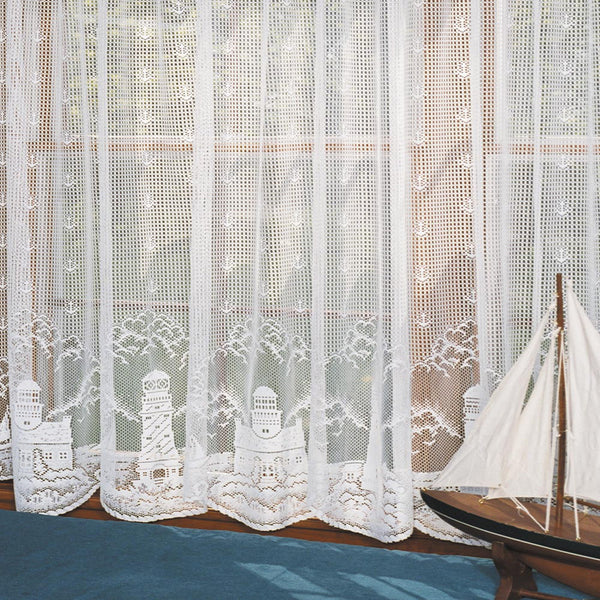 Lighthouse Lace Panel