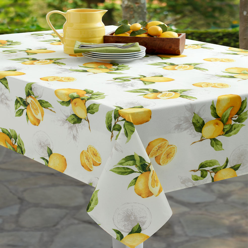 Delicieux ... Limoncello Indoor/Outdoor Spill Proof Tablecloth Zoom