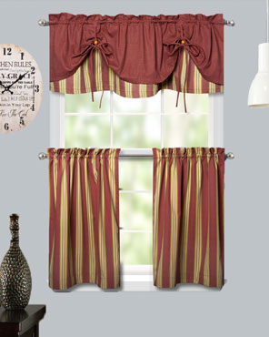 Lisa-Stripe-Tier-and- Tie-up-Valance
