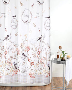 Live Simply Fabric Shower Curtain