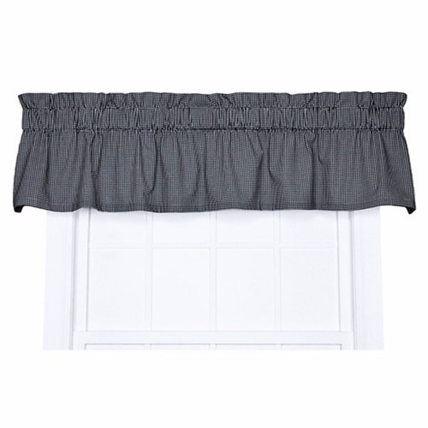 Logan-Check-Tailored-Valance-Black-Zoom