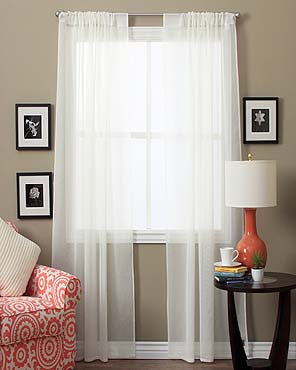 Lucerne Semi Sheer Panel