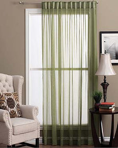 Lucerne  Semi  Sheer  Pleat  Patio  Panel