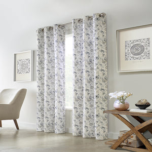 Thermalogic Moody Floral Grommet Panel Pair